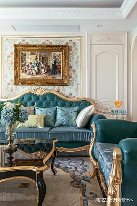 欧式别墅豪宅201-500m²客厅装饰