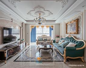 欧式别墅豪宅201-500m²客厅设计