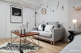 76平小户型客厅现代风格效果图