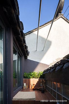 202081平米中式小户型阳台装修欣赏