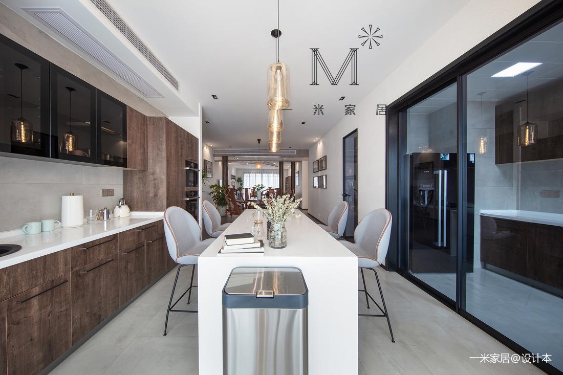 质朴75平中式二居厨房装修图展示