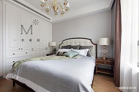 2019年127平美式三居卧室装修效果