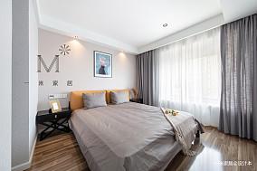 浪漫73平现代二居卧室装修图片