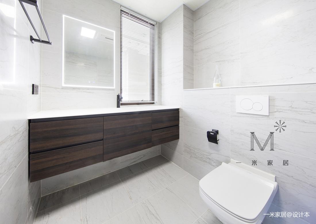 简约的现代北欧风格洗手间设计展示