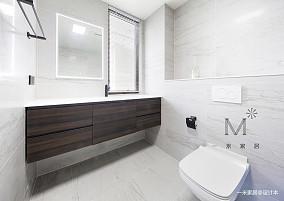 简约的现代北欧风格洗手间设
