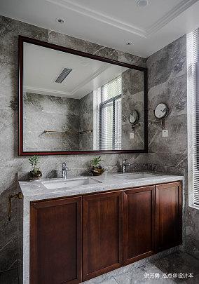 优美681平中式别墅卫生间装潢图