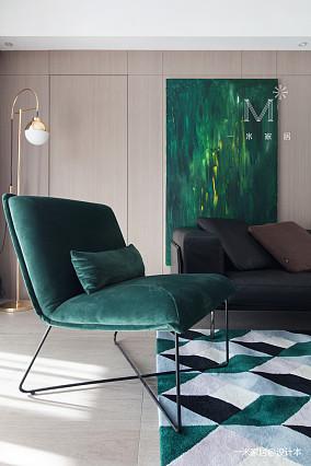 优美83平现代二居装饰图片