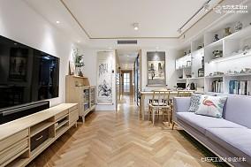 45万65㎡中式现代家装装修效果图