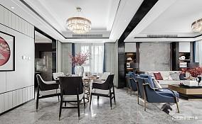 中式现代样板间201-500m²客厅装饰