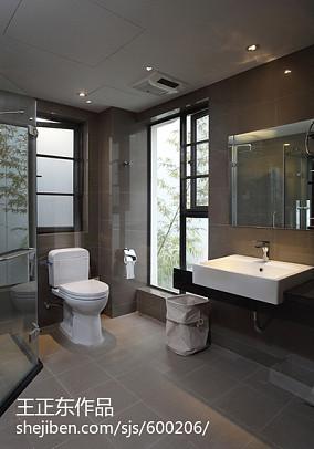 128平米新古典别墅卫生间装修欣赏