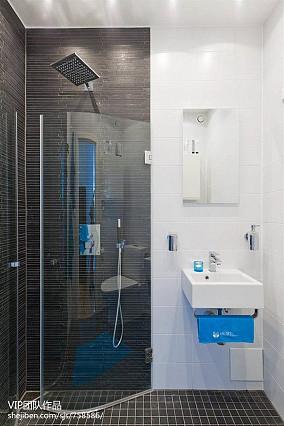 热门面积76平小户型卫生间现代装