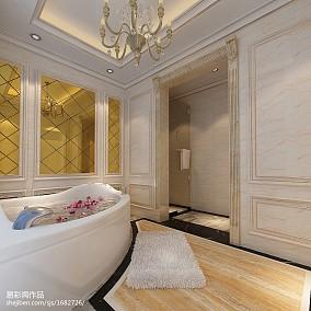 精选113平米新古典别墅卫生间装修