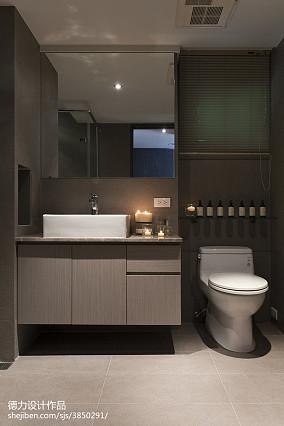 精美面积88平现代二居卫生间装修
