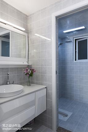 2020 101平米三居卫生间现代装修实