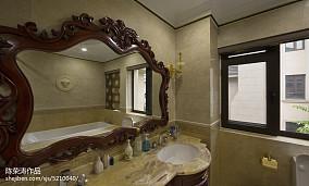 精选欧式别墅卫生间装饰图片欣赏