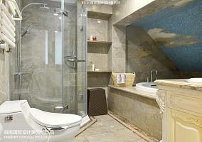 面积125平别墅卫生间新古典设计效