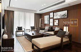 60万138㎡中式现代家装装修效果图