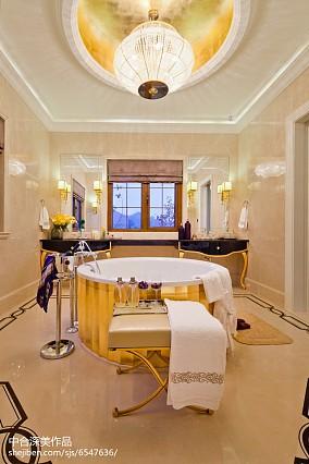 精美137平米美式别墅卫生间装修效