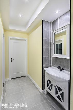 家装简约美式卫浴设计
