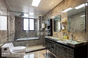 热门面积99平欧式三居卫生间装修