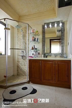 精选面积122平欧式四居卫生间装修