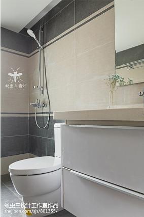 2020精选日式四居卫生间装修设计