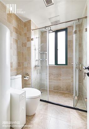 精选美式三居卫生间效果图片欣赏