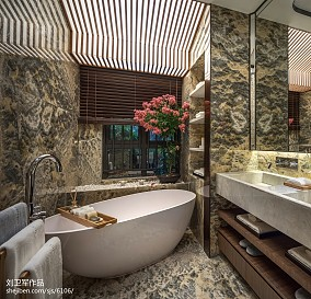 家居中式风格卫浴设计案例