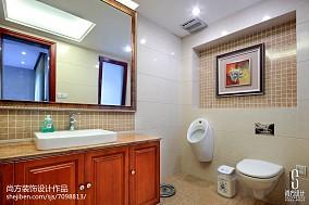 热门中式别墅卫生间装修实景图片