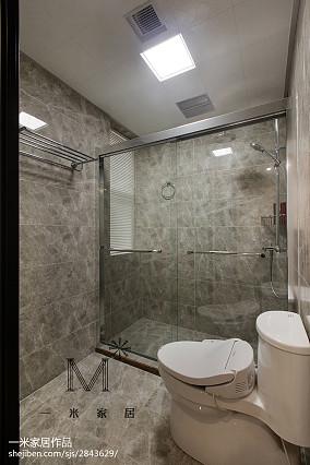 现代轻禅风卫浴设计