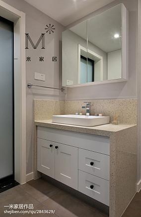 精选面积99平现代三居卫生间装修
