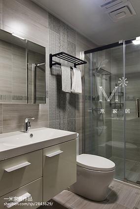 精选面积128平现代四居卫生间装饰