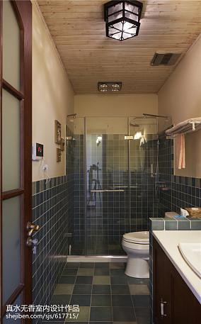 108平方三居卫生间混搭欣赏图