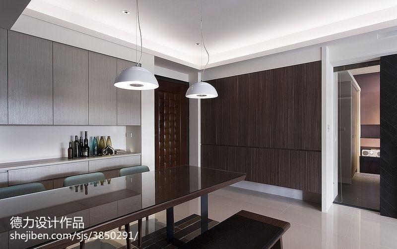 60m²以下二居现代简约家装装修效果图展示6