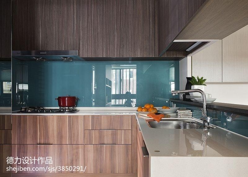 60m²以下二居现代简约家装装修效果图展示0