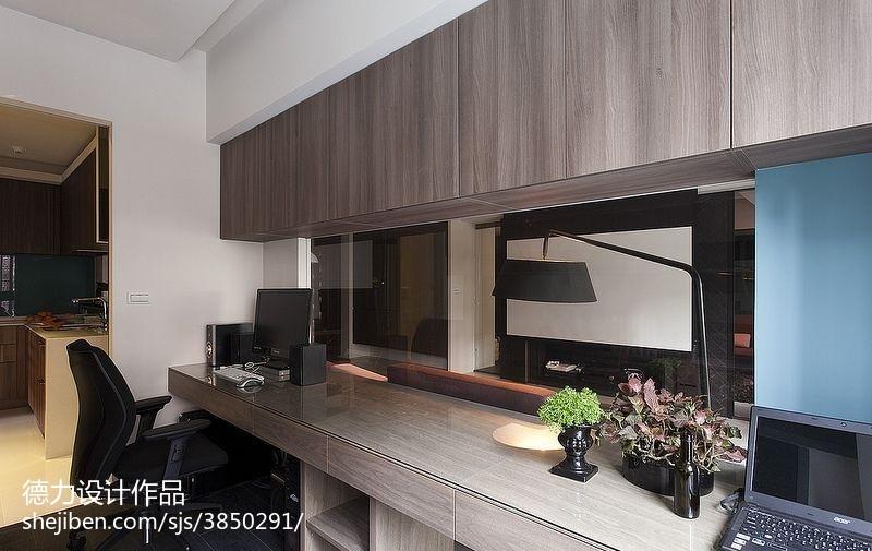 60m²以下二居现代简约家装装修效果图展示13