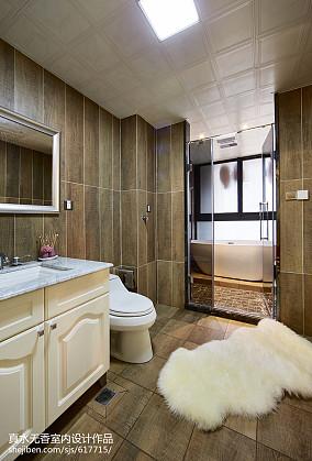 精美面积144平新古典四居卫生间装