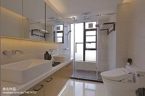 2020面积124平别墅卫生间现代装修
