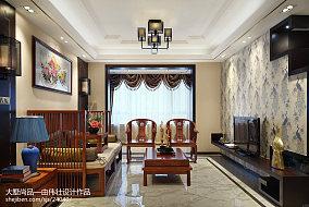40万115㎡中式现代家装装修效果图