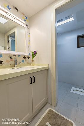 精选面积110平现代四居卫生间欣赏