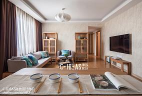 126㎡中式现代家装装修效果图