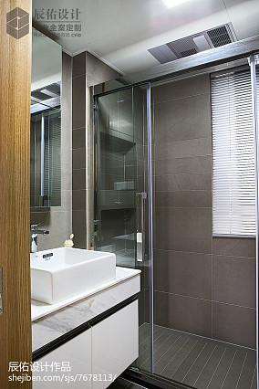 精选日式二居卫生间装修效果图