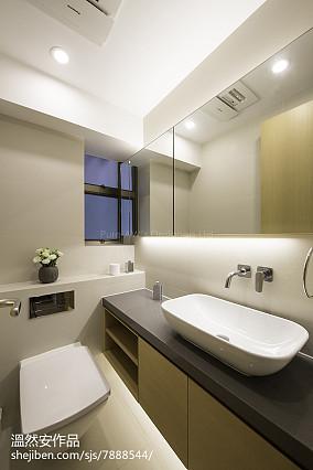 精选90平米二居卫生间日式装修效