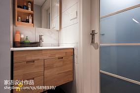 精美小户型卫生间日式装修设计效