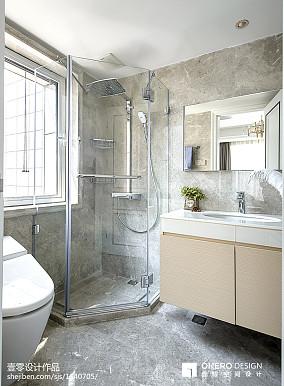 简单现代风格卫浴设计图
