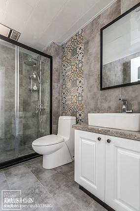 110㎡ 美式卫浴设计图
