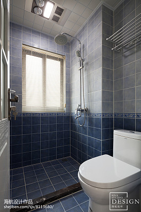 136m²简美卫浴设计图
