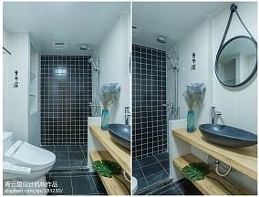 2020日式三居卫生间装修图片