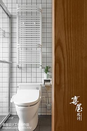 2020精选93平米三居卫生间日式装饰