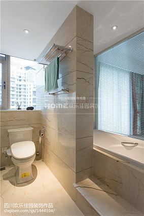 美式四居卫浴设计图片